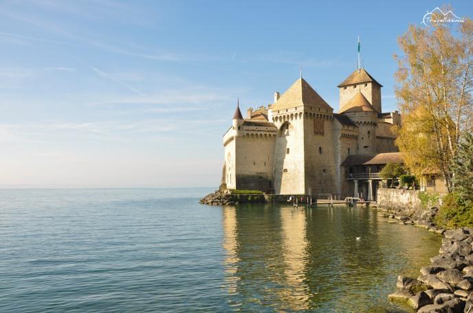 Chateau de Chillon - między Villeneuve i Montreux
