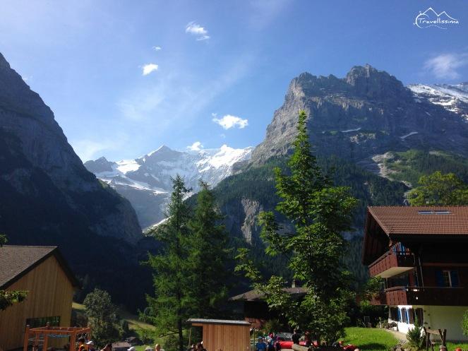 widok w punkcie startu - Grindelwald