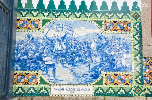 Azulejos w Evorze