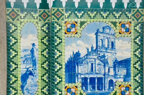 tradycyjne portugalskie azulejos