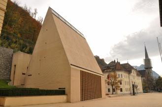 Vaduz - siedziba Rządu i Parlamentu