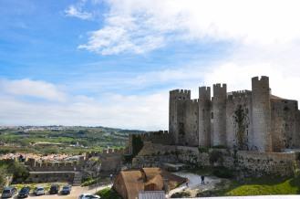 Zamek w Obidos