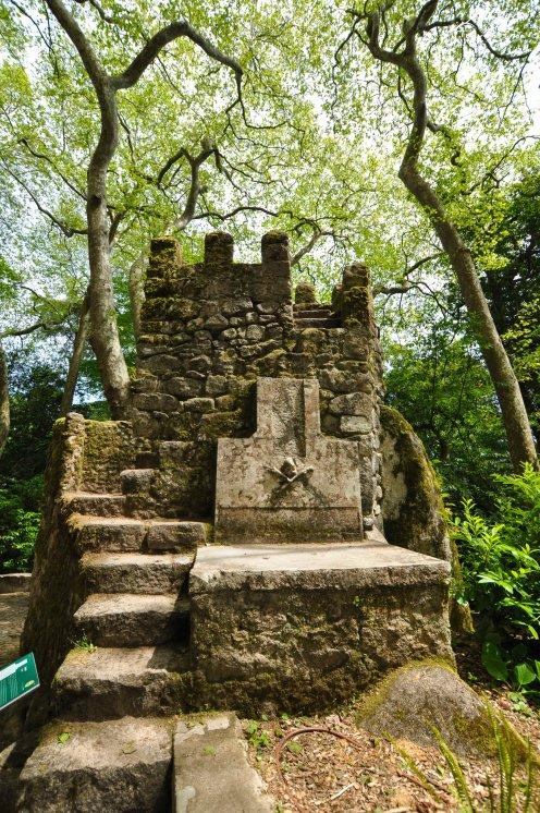 Sintra, ogrody Pałacu Pena