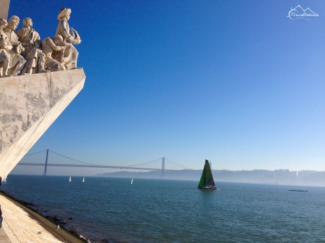 Słoneczny zimny styczeń w Lizbonie