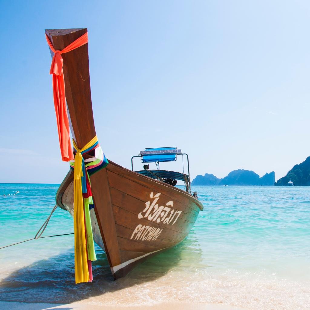 Longtail boat wakacje w Tajlandii
