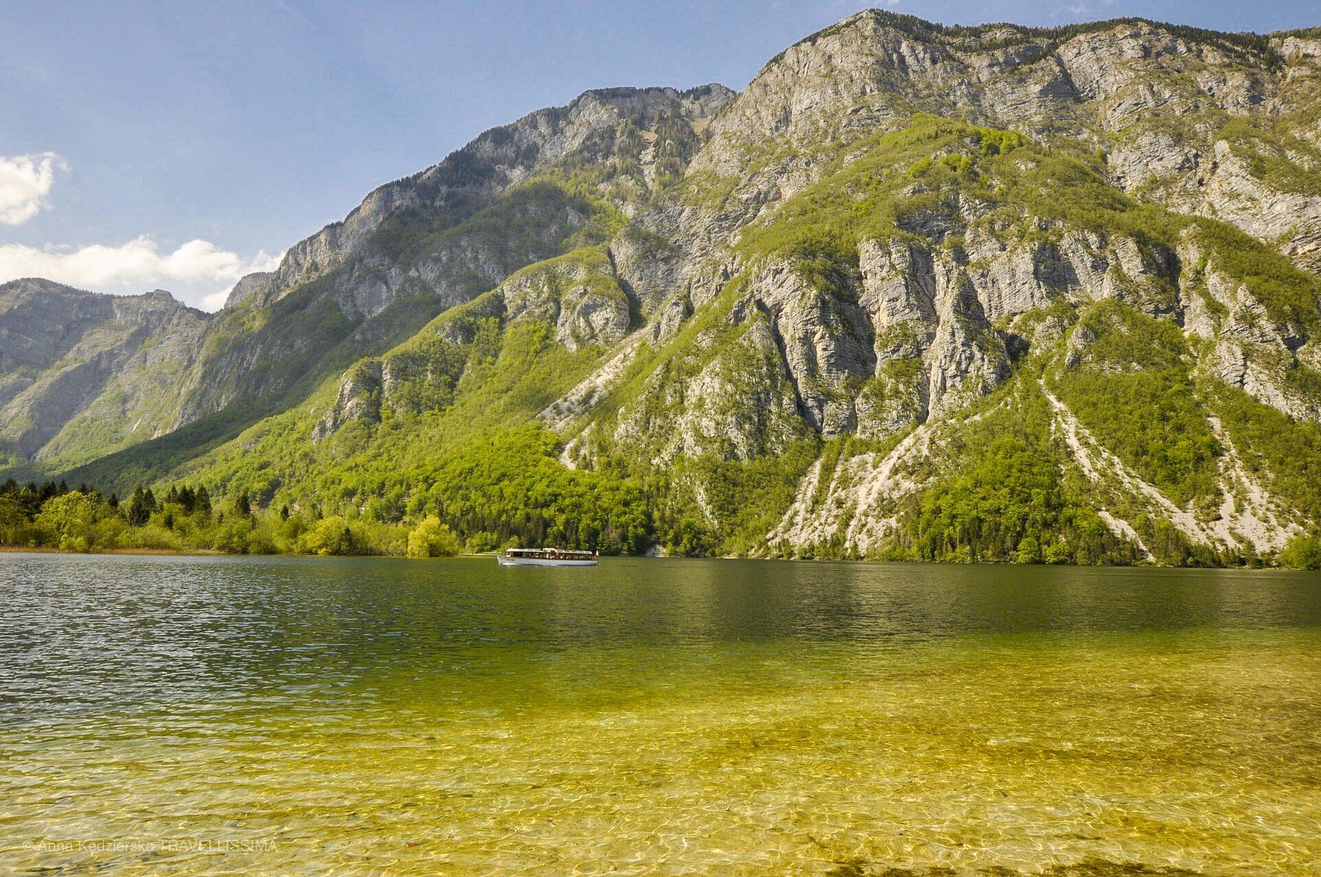Wakacje z dziećmi w Słowenii, Jezioro Bohinj