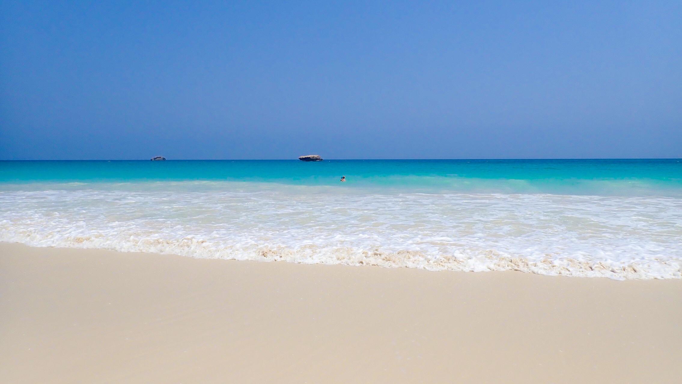 Plaża Fazayah Oman podróż
